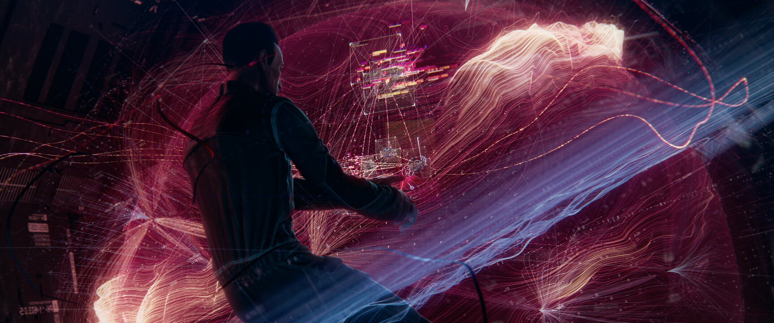 Image from Danil Krivoruchko's indie sci-fi short BLINDSIGHT, inspired by Peter Watts novel