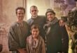 Andrew Scott, Jeremy Irvine, Milo Panni and Ravi Ajit Chopra on set of Cognition, article featured on The Fantasy Network News