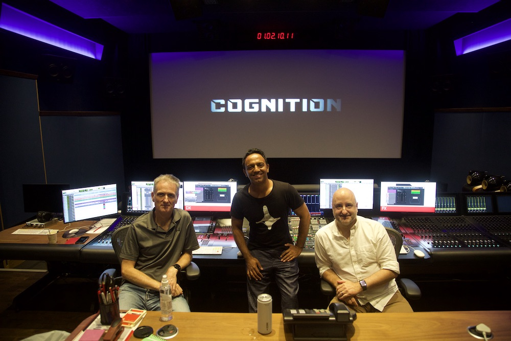 Ravi Ajit Chopra behind the scenes of Cognition - article on The Fantasy Network News