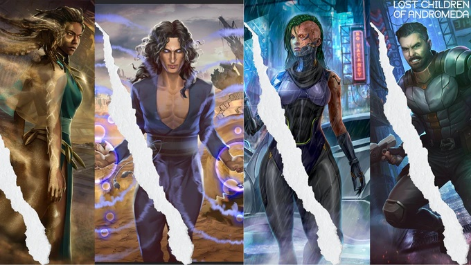 Learn more about Lost Children of Andromeda - read the article on The Fantasy Network News