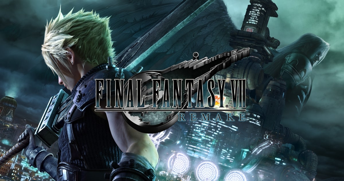 Cover Image from Final Fantasy VII remake - review on The Fantasy Network News