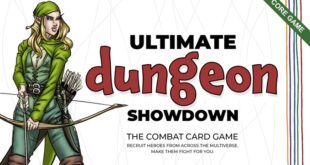 Ultimate Dungeon Showdown: The Game - learn about the Kickstarter to support Zombie Orpheus Entertainment