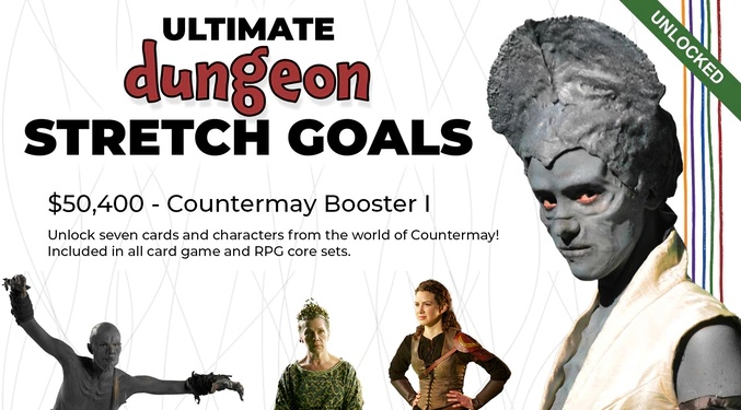 The Ultimate Dungeon Showdown role-playing game - learn more about the Kickstarter at thefantasy.news